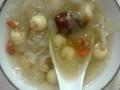 白木耳蓮子湯